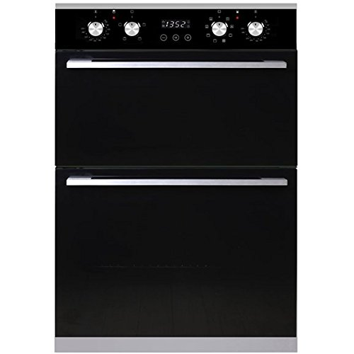 SIA R4 Integrated Built In Multi Function Programmable Electric Double Fan Oven