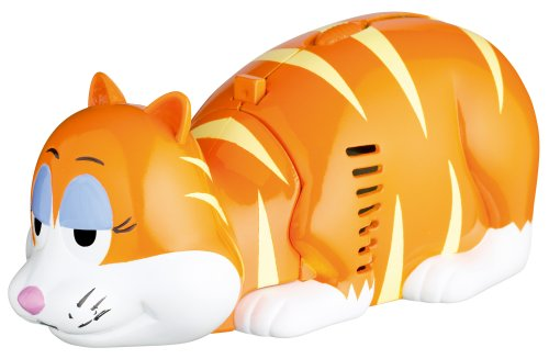 Kitchen Craft Ginger Cat Crumb Pet Novelty Tabletop Vacuum Cleaner
