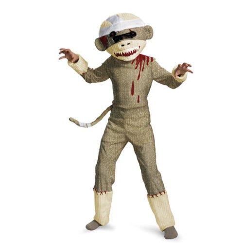 Unique's Shop Zombie Sock Monkey Costume for Boys-BOYS10-12 at Sears.com