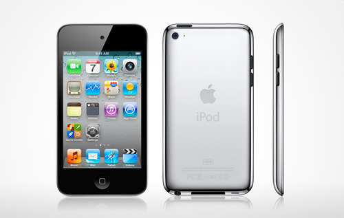 Different Views Of The iPod Touch 4th Generation