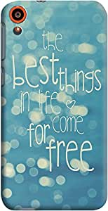Dailyobjects Best Things In Life Case For HTC Desire 820