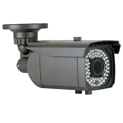 Gw Security Inc Gw-400Whd-Vd 1/3-Inch Sony Cmos Surveillance Security Camera 1000 Tv Lines, 2.8 To 12Mm Lens, 64 Pieces Infrared Led And 147-Feet Ir Distance