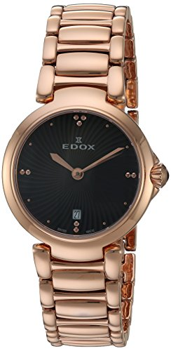 Edox-Womens-57002-37RM-NIR-LaPassion-Analog-Display-Swiss-Quartz-Rose-Gold-Watch