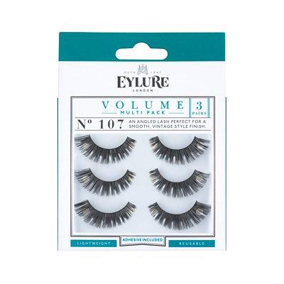 Eylure-Strip-Eyelashes-Volume-No.-107-Multipack-x-3