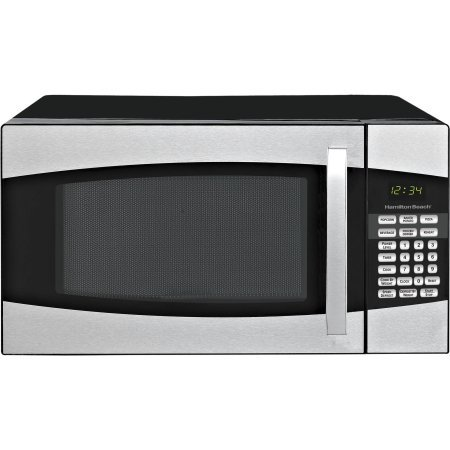 Hamilton Beach 0.9-cu. ft. Microwave Oven, Black,900 watts power/10 power levels (Hamilton Beach Convention Oven compare prices)