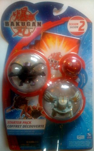 BAKUGAN Battle Brawlers Starter Pack New Vestroia Season