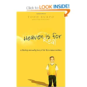 New book: Heaven is For Real