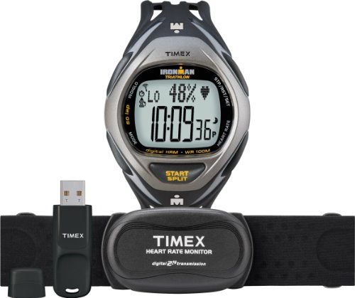 Cheap Timex® Ironman® Race Trainer Kit(USB) and Heart Rate Monitor T5K446 (T5K446)