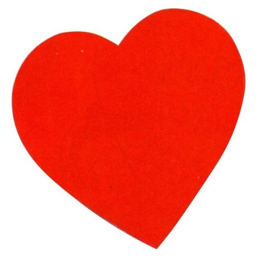 Red Heart Cutout (15 inches) - 1