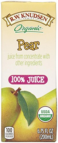 R.W. Knudsen Organic Juice Boxes - Pear - 6.75 oz - 4 ct - 7 pk (Pear Juice Organic compare prices)