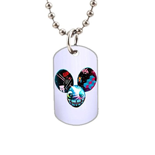 Deadmau5 Mouse Head Fashion Image Custom Unique Personalized Dog Tag Necklaces, dogtag size About 1.3X 2.2 inches Ideal Gift (Deadmau5 Mouse Head compare prices)