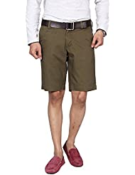 Hammock Men's Solid Chino Shorts - Clubbie Olive