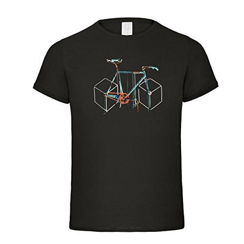 Fahrrad-Abstrakt-Fun-Shirt-Fahrrad-T-Shirt-Design