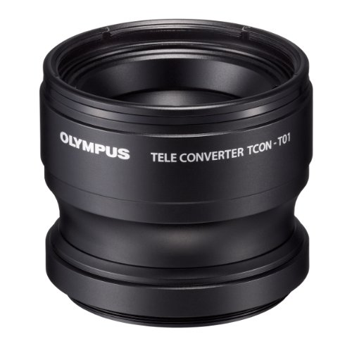 Olympus Telephoto Tough Lens Pack (Lens And Adapter) For Tg-1 And Tg-2 Cameras (Black With Red Adapter) - International Version (No Warranty)