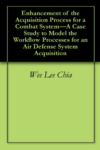 Enhancement of the Acquisition Process for a Combat System-A Case Study to Model the Workflow Processes for an Air Defense System Acquisition