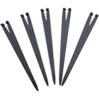 100pcs Hook Fixed Stems Support Holder For 4/7 Or 3/5 Irrigation Hose Holder NEW