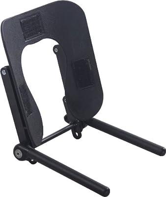 Sierra Comfort Ergonomic Face Cradle for Portable Massage Table with Adjustable Tilt, Black