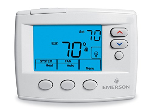 White-Rodgers 1F86-0471 Single Stage, Non-programmable Thermostat, 24 Volt or Millivolt System, 3-wire Zone (4 Stage Thermostat compare prices)