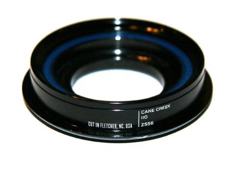 Cane Creek 110-Series Zerostack Conversion Bottom for 56mm Head-Tube, 1-1/8-Inch Crown Race Diameter, Black