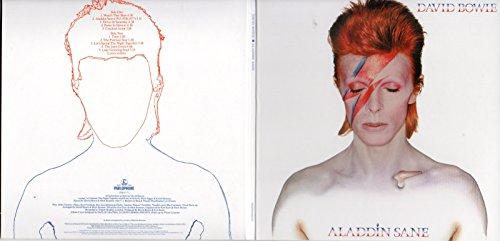 CD David BOWIE - Aladdin Sane (1973) - MINI LP REPLICA GATEFOLD CARD SLEEVE - 10-TRACK - CD
