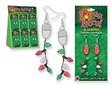 Lotsa Lites Christmas Holiday Flashing Light Bulbs Earrings (sold individually)