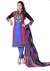 Balaji Fashion Women's fancy print cottan suit-D.NO 1010