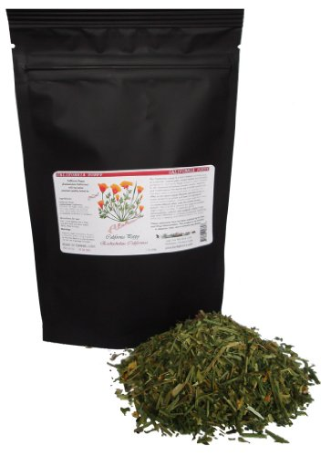 Organic California Poppy (Eschscholzia Californica) Herb (2.2 Lb)