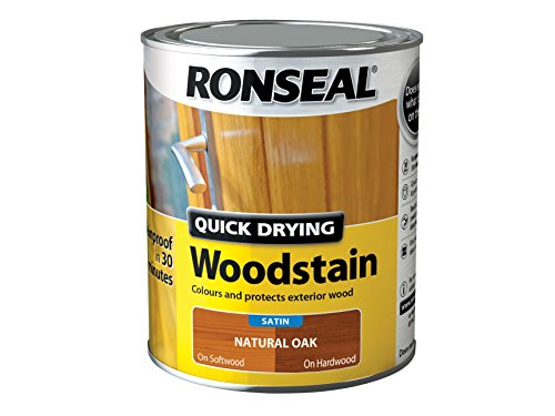 ronseal-qdwsno750-750-ml-satin-finish-quick-dry-woodstain-natural-oak
