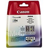 Canon AMAKIT103-CAPG40-CL41 Cartouche d'encre Multipack Noir