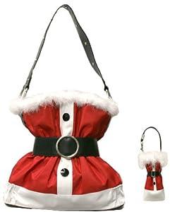 Christmas Santa Claus Suit Purse Handbag from JBags