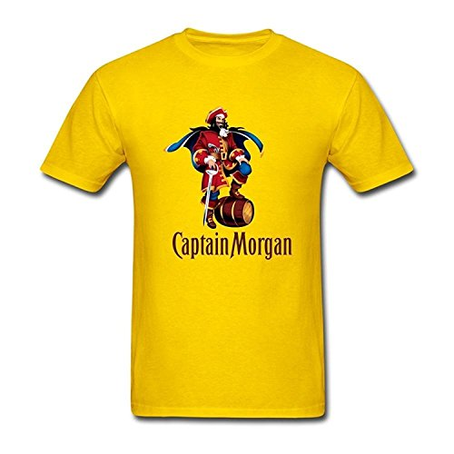mens-captain-morgan-short-sleeve-t-shirt-yellow
