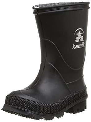 Kamik Stomp Rain Boot (Toddler/Little Kid/Big Kid), Black, 5 M US Toddler