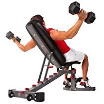 XMark Fitness Commercial 11-Gauge Flat/Incline/Decline Bench