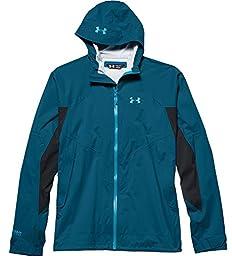 Under Armour UA Armour Stretch Rain Jacket - Men\'s Sapphire Lake / Deceit XL