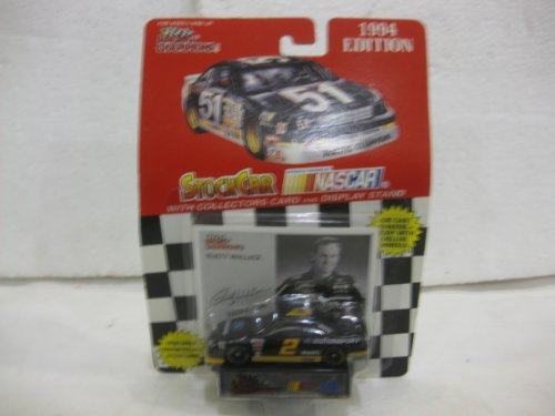 Rusty Wallace #2 Motorsport Ford Nascar In Black Diecast 1:64 Scale 1994 Edition By Racing Champions - 1