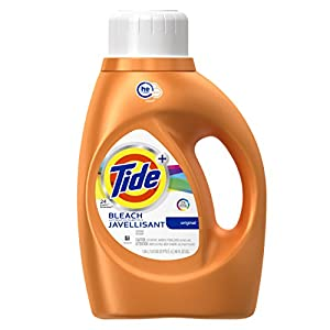Tide Plus Bleach Alternative HE Turbo Clean Liquid Laundry Detergent