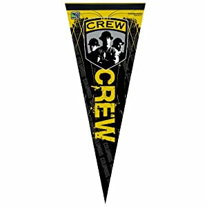 MLS Columbus Crew 12-by-30 Inch Premium Quality Pennant by WinCraft