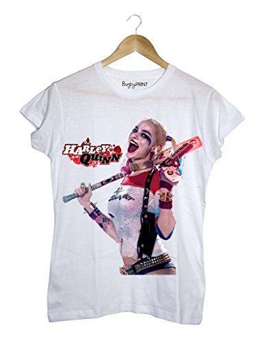 T-shirt donna Suicide squad harley quinn, S