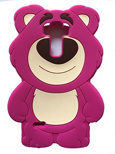 Jicheng Electronic LG G Stylo LS770 Strawberry Bear Case,3D Cartoon Cute Strawberry Bear hug Bear Silicone Case for LG G4 Note LS770/LG G Stylo LS770 MS631 Rose at Gotham City Store