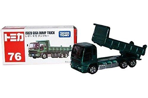 TOMY TOMICA 76 ISUZU GIGA DAMP TRUCK BOX NEW