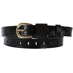 Schmick Women Black Leather Belt