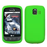 Cbus Wireless Green Silicone Case / Skin / Cover for LG Optimus S LS670 / Optimus U / Optimus V VM670