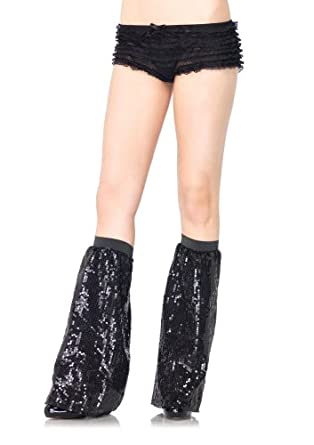Sequin leg warmers O/S BLACK