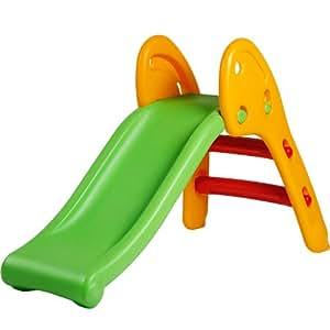 infantastic kinderrutsche rutschbahn rutsche f r in outdoor abgerundete ecken kinder ab 2 5. Black Bedroom Furniture Sets. Home Design Ideas