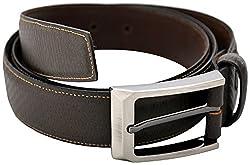 URBAN DISENO Men's Belt (Ud-belt-04_Small, Brown, Small)