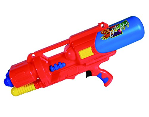 Time To Get Wet With This Ultimate XXL Plastic Pump Action Water Pistol/Gun, Great Outdoors Fun for the Garden, Beach or PlayPark - Great Gift Idea