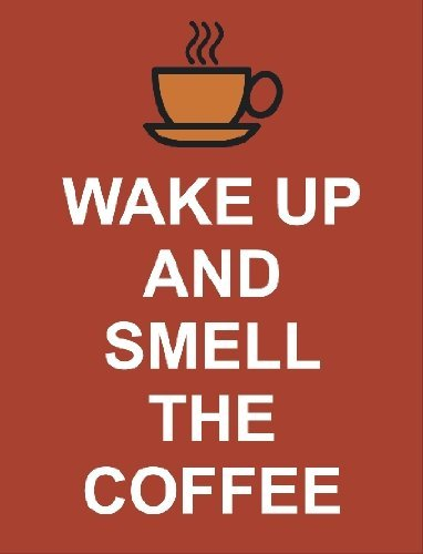 Akey2791 Wake Up And Smell The Coffee Keep Calm And Carry On Acrylic Keyring