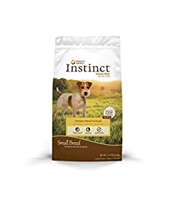 Nature's Variety Instinct Small Breed Grain-Free Chicken Meal Formula Dry Dog Food, 12 lb