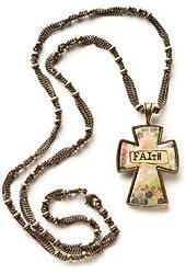 Kelly Rae Roberts Faith Cross Necklace