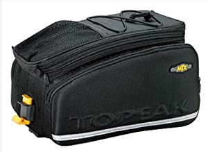 Topeak MTX Trunk Bag DXP Bicycle Trunk Bag with Rigid Molded Panels by Topeak